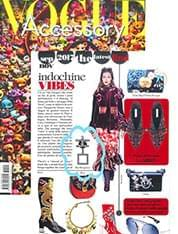 LUCK earring On Vogue Accessory September Issue