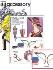 On the first issue of CONDÉ NAST MAG ACCESSORY
