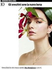 Heliconia Earrings on IO DONNA